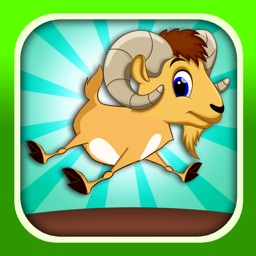 A  Crazy Jumping Goat - A Barn Animal Hopping Game