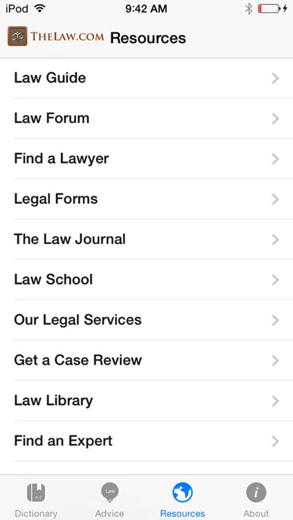TheLaw.com Law Dictionary Pro screenshot-4