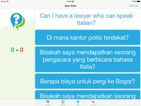 Indonesian Phrasebook - Travel in Indonesia with ease iPad