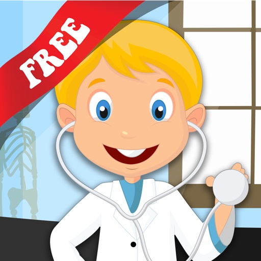 Free Kids Puzzle Teach me Hospital - Learn how to be a doctor or a nurse icon