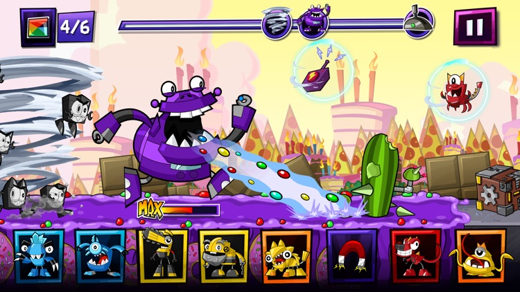 Mixels Rush - Use Mixes, Maxes and Murps to Outrun the Nixels screenshot-1