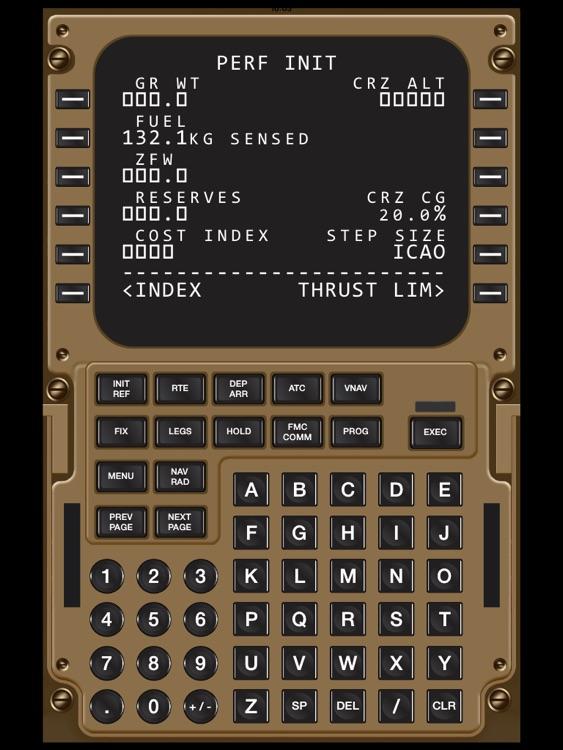 Virtual CDU 747 screenshot-3