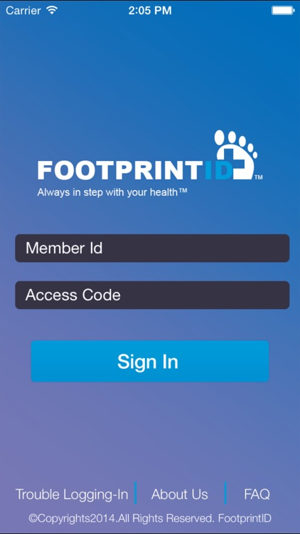 Footprint ID screenshot-0