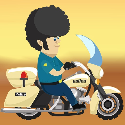 Crazy Police Bike Road Racer - new virtual street racing game
