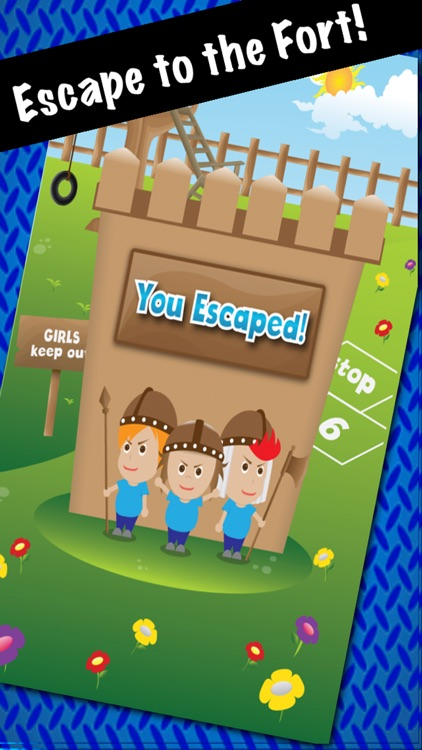 Don't Catch Girl Cooties - Escape to the Tree Fort Refuge screenshot-4