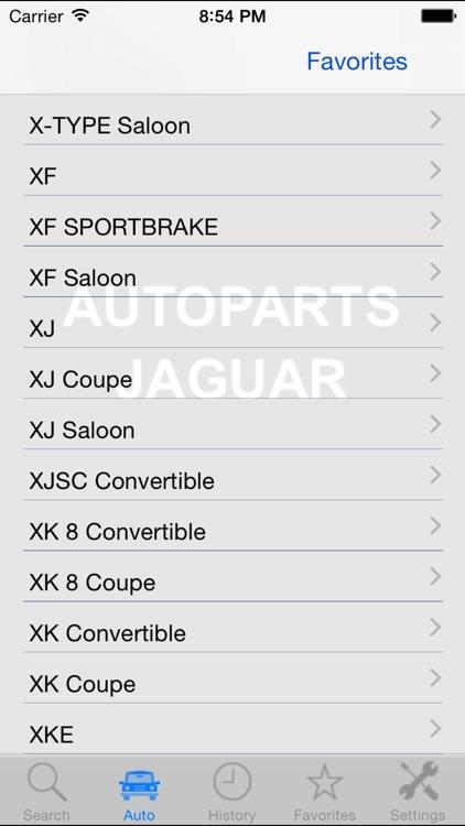 Autoparts for Jaguar screenshot-3