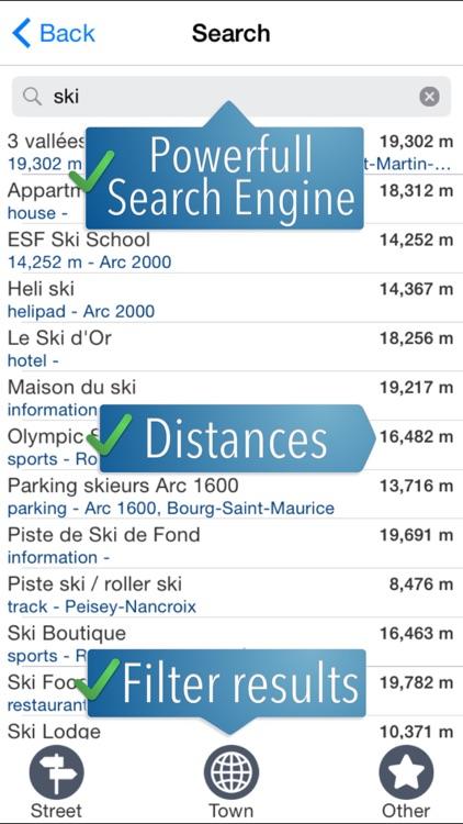Paradiski Ski Map screenshot-3