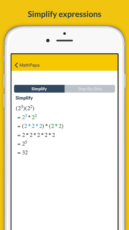 MathPapa - Algebra Calculator & Equation Solver App screenshot-3