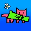 Bow run. Beautiful and Funny runner with pink cat Bow, for relaxing and good mood. Reviews