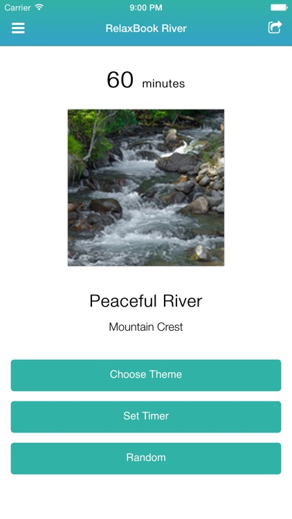 RelaxBook River - Sleep sounds for you to relax with rivers, cascades, waterfalls, and more