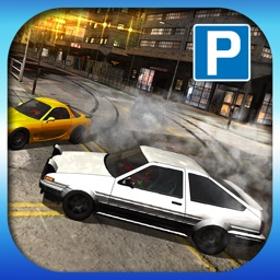 3D Drift Car Parking - Sports Car City Racing and Drifting Championship Simulator : Free Arcade Game