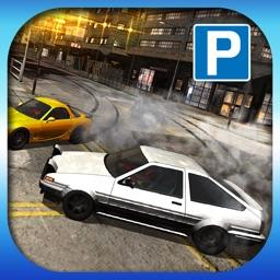 3D Drift Car Parking - Sports Car City Racing and Drifting Championship Simulator : Free Arcade Game