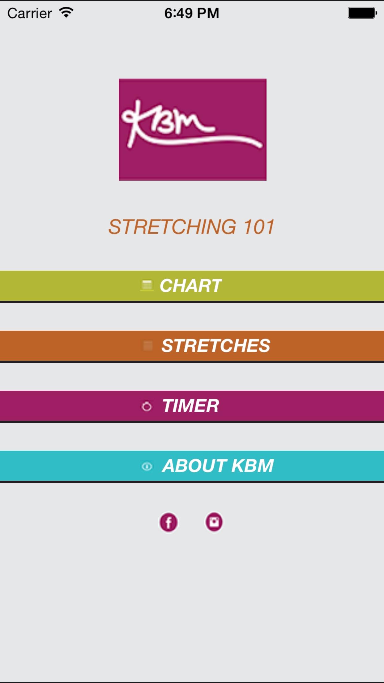 KBM Talent Stretching 101 Screenshot