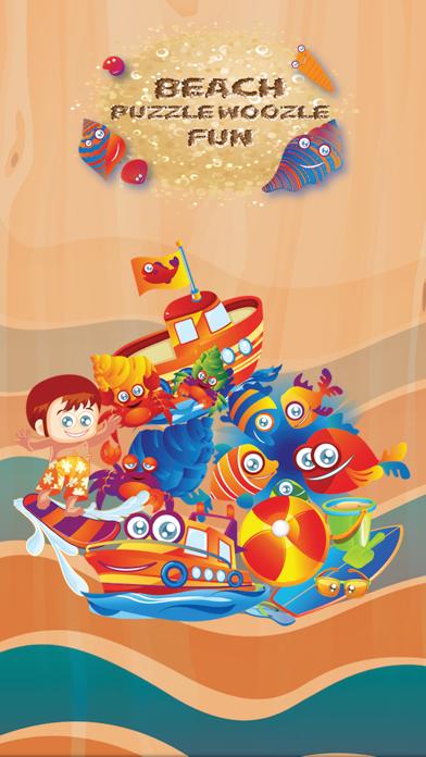 download Preschool Kids Beach Fun Puzzle Woozzle apps 0