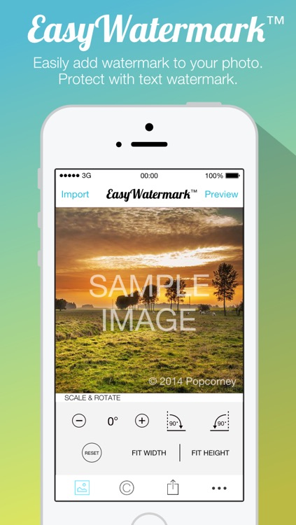 Easy Watermark for Photo Free - Protect your photos and pictures with copyright watermark