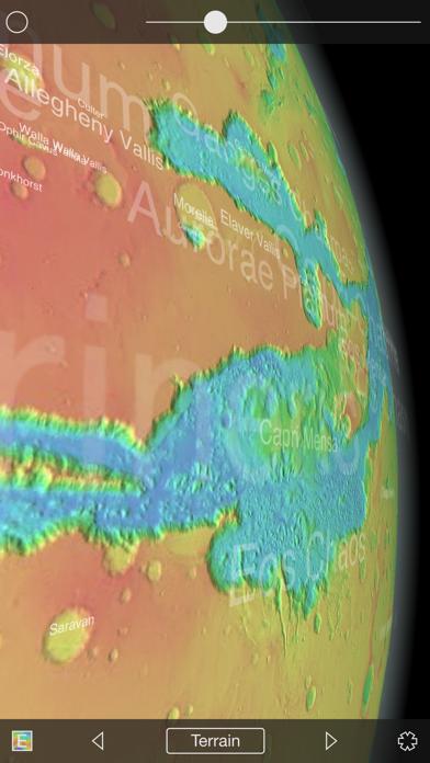 Mars Globe-3