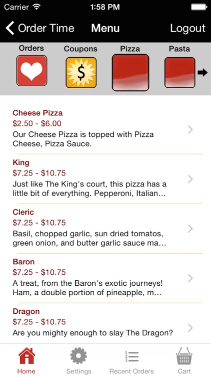 Pizza King Norman