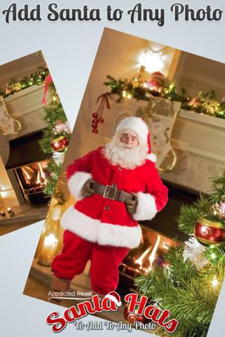 Santa Hats - Virtually add Santa Hats, Beards and Even Santa to your photos screenshot 4