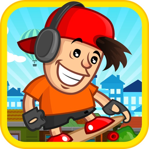 Skyline Dash Run - Skaters vs Obstacles icon
