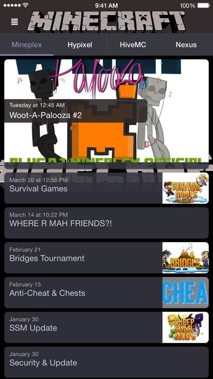 Server News for Minecraft! screenshot-3