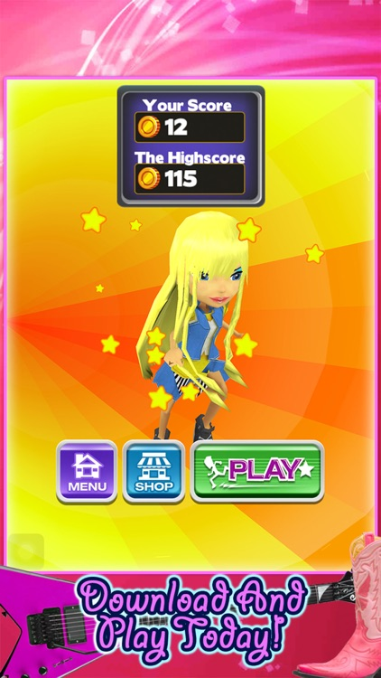 3D Fashion Girl Mall Runner Race Game by Awesome Girly Games FREE screenshot-4