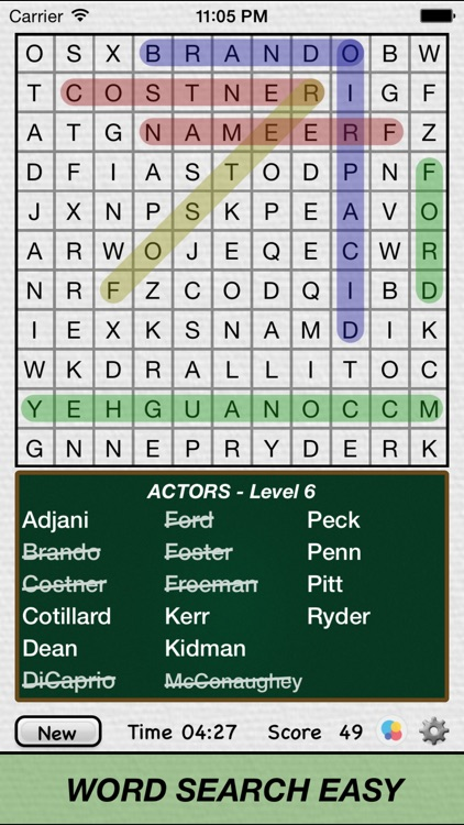 Word Search Easy