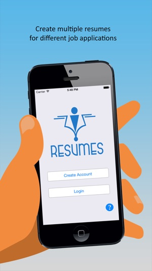 u200eiresumes  u2013 pro resume builder and designer on the app store