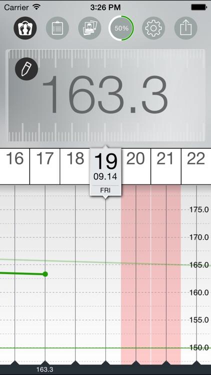 Weight Tracker FIT - body mass control program with smart bmi analyzer