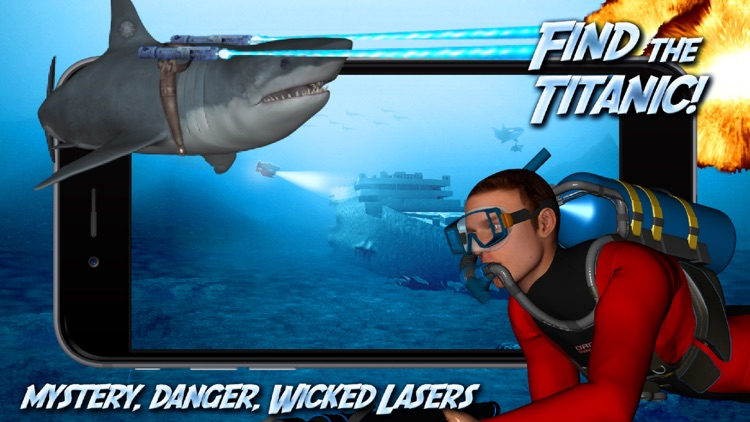 Shark Adventure Free screenshot-3