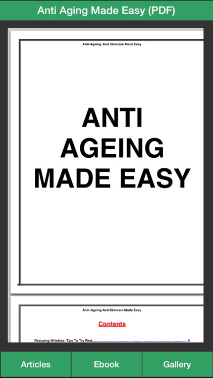 Anti Aging Guide - The Ultimate Guide To Anti Aging For Your Skin ! screenshot-4