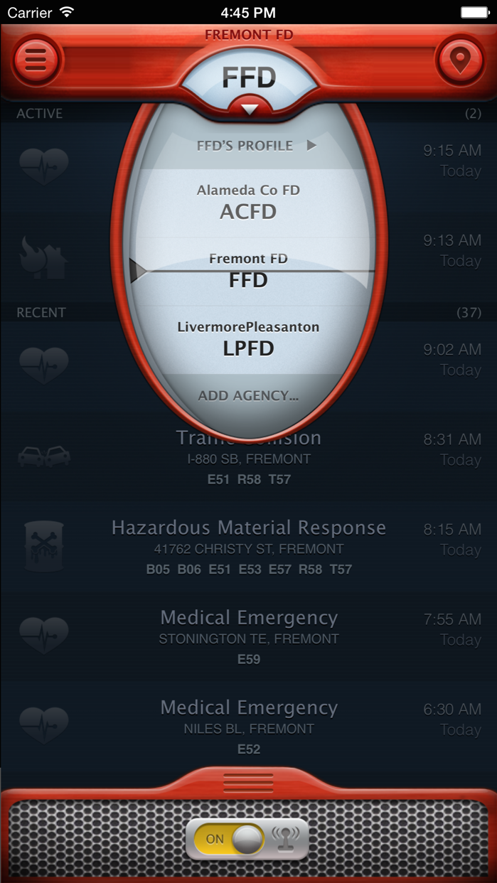 PulsePoint Screenshot