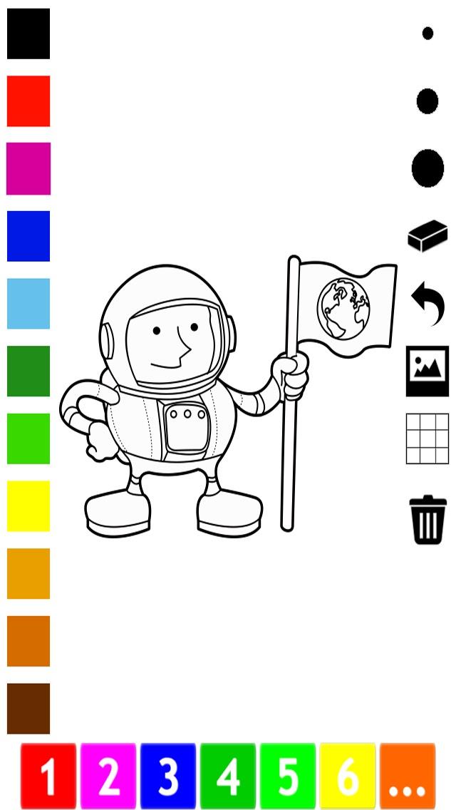 活動 圖畫書 的 職業 兒童: 學畫畫 與許多圖片屏幕截圖3