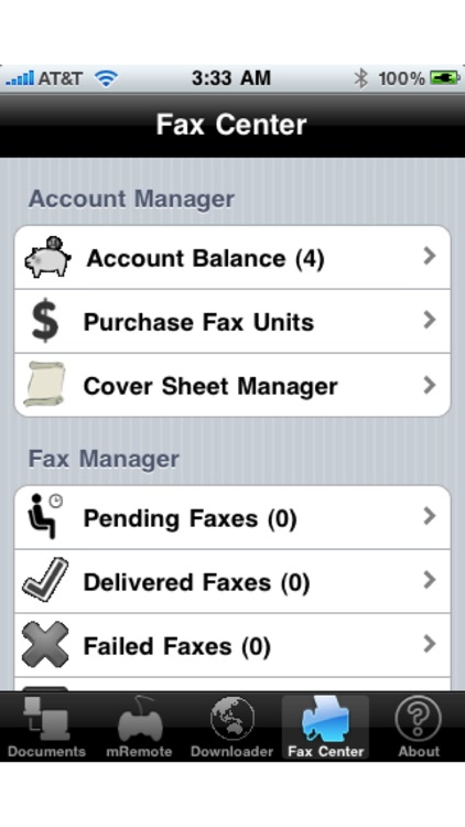 Document Downloader (Print Fax Mail and Postcards) screenshot-4