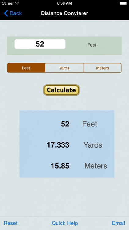 Distance Converter: Feet, Meters, Imperial, & US Unit screenshot-3