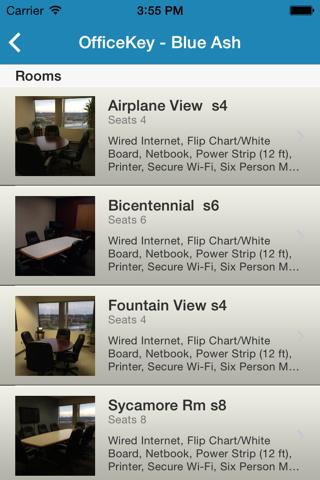 Screenshot of Open Meeting Room