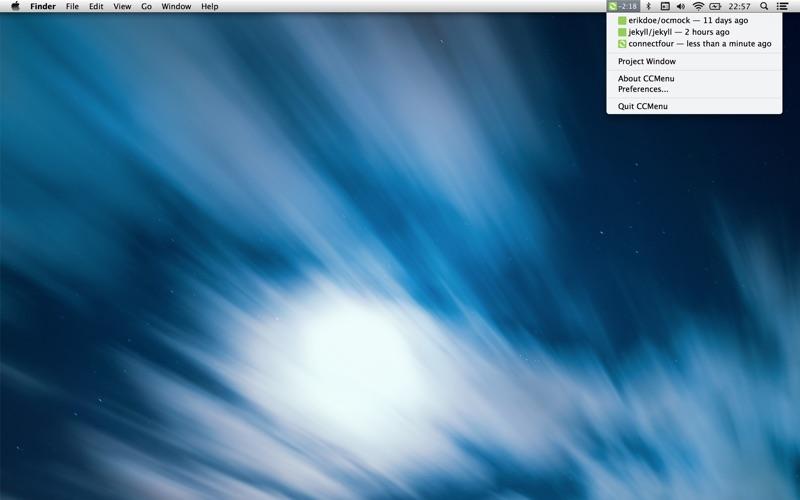 CCMenu Screenshot