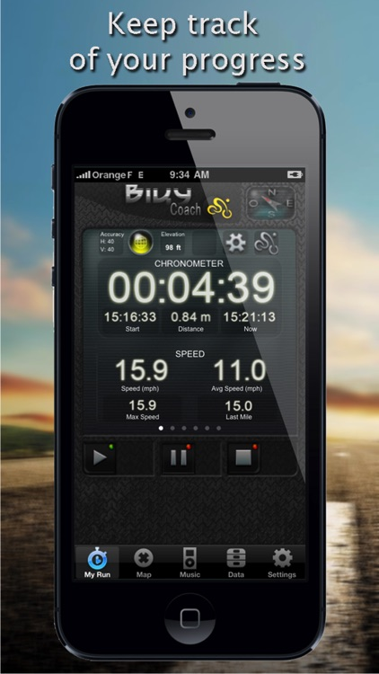 Biky Coach - Sport GPS Biking / Cycling / Bike / Racer - Free Edition