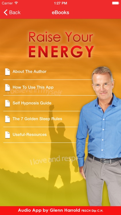 Raise Your Energy by Glenn Harrold: Self-Hypnosis Energy & Motivation screenshot-3