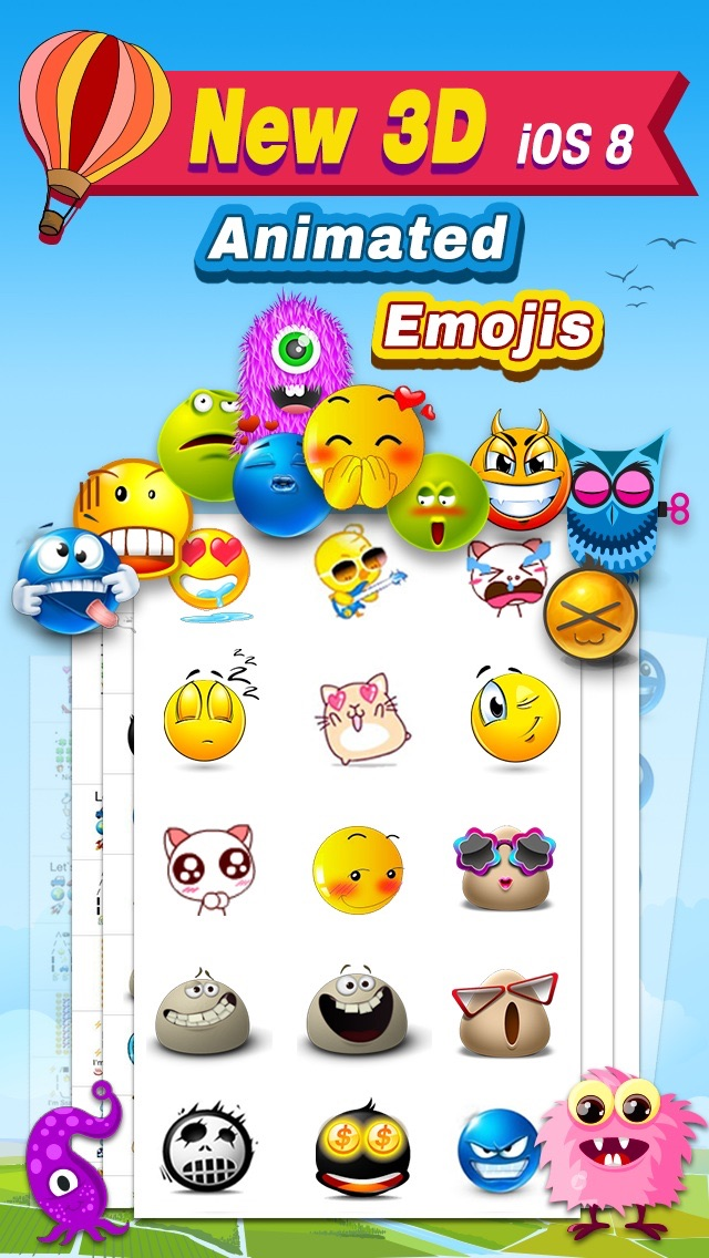 Top 10 Apps like Animated 3D Emoji Free - New Animated