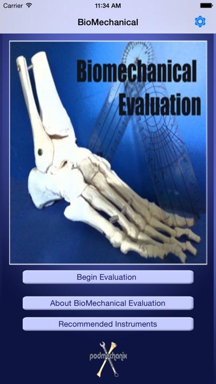 Biomechanical Evaluation