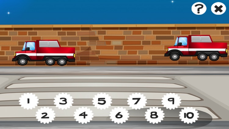 A Firefighter Counting Game for Children: Learning to count with firemen screenshot-4