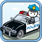 `Stickman Police Car Crime Chase Race: The Doodle Chase Racing Free by Top Crazy Games icon