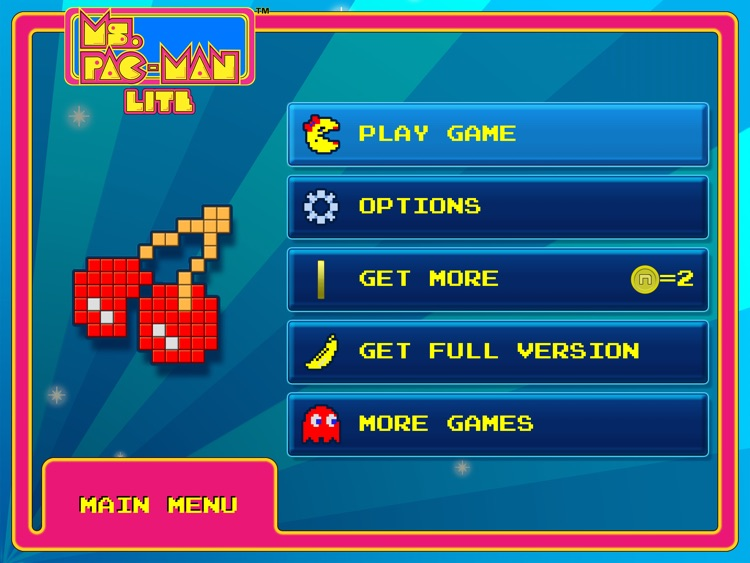 Ms. PAC-MAN for iPAD Lite