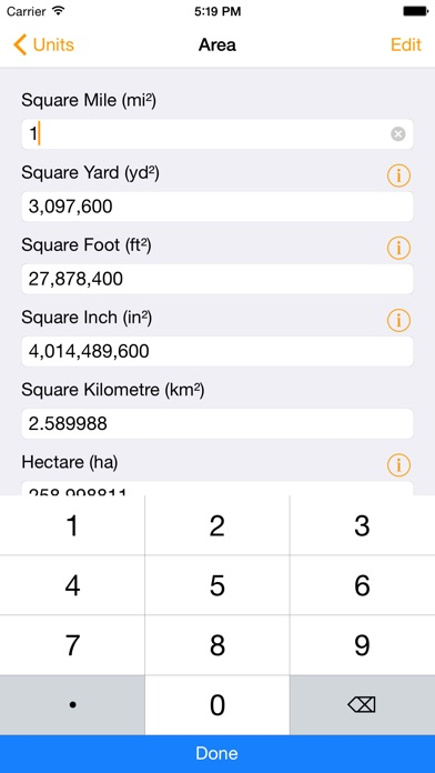 Units - Free Unit Converter screenshot one
