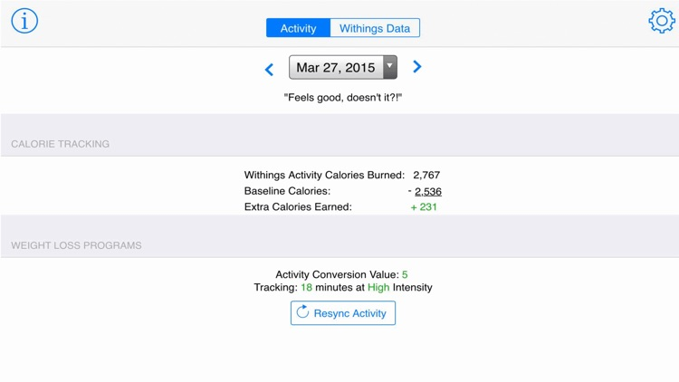 WitFitWatchr: Advanced Withings Activity Tracker