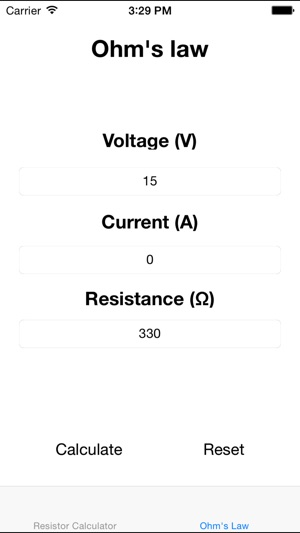 Resistor Color Calculator on the App Store