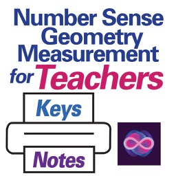 Teacher and Student Print Materials for Number Sense, Geometry, Measurement