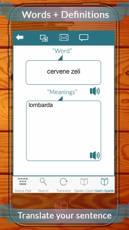 Spanish Czech Dictionary With Translator & Search screenshot-4