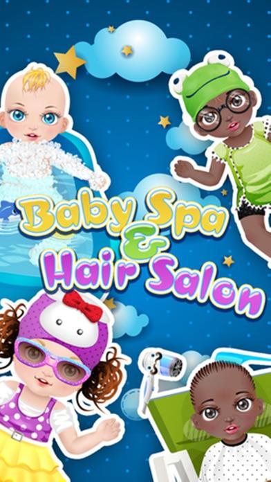 赤ちゃんの洗浄、ヘアサロン - 子供向けゲームのおすすめ画像1