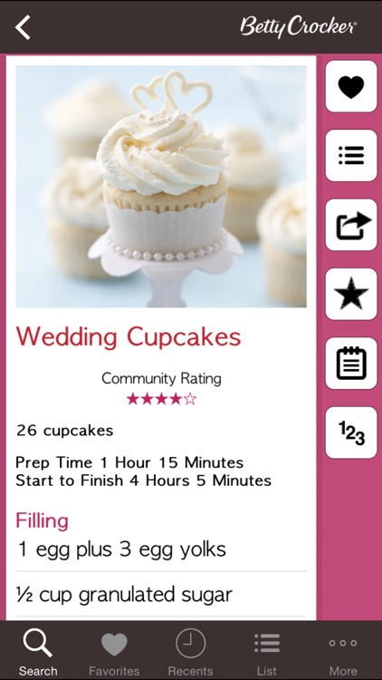 Cupcake Recipes: Betty Crocker The Big Book of Series screenshot-3